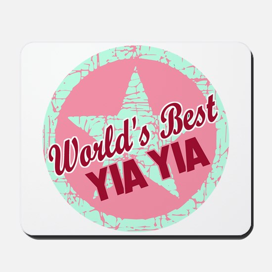 The World's Best Yia Yia Mousepad