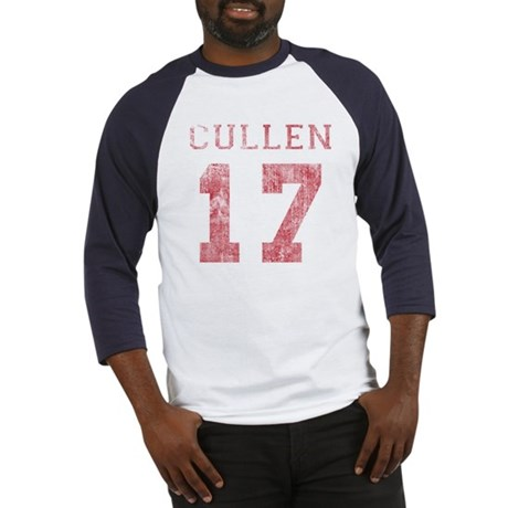 Vintage Cullen 17 Varsity Baseball Jersey