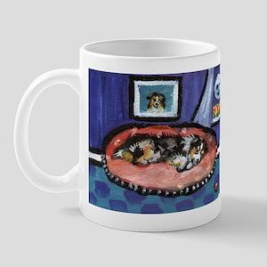 Australian shepherd blue bed Mug