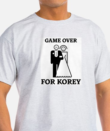 Game over for Korey T-Shirt