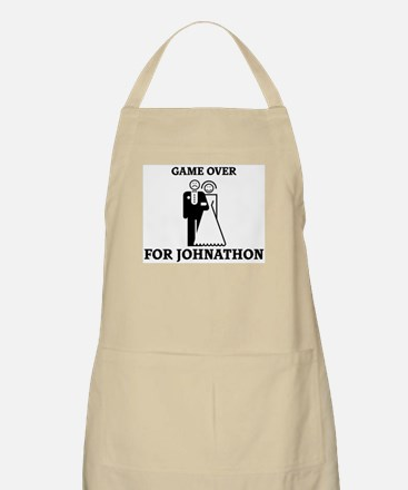 Game over for Johnathon BBQ Apron