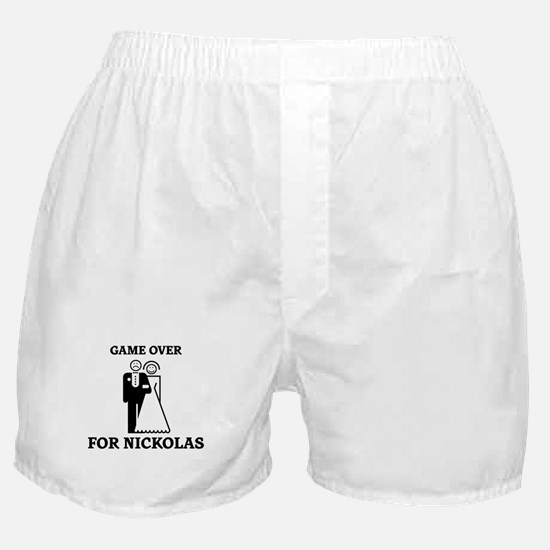 Game over for Nickolas Boxer Shorts