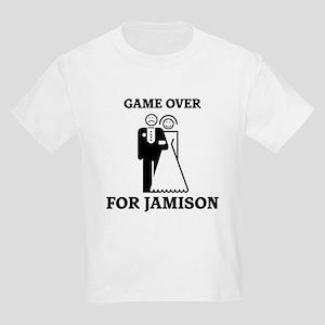 Game over for Jamison Kids Light T-Shirt