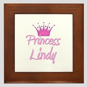 Princess Lindy Framed Tile