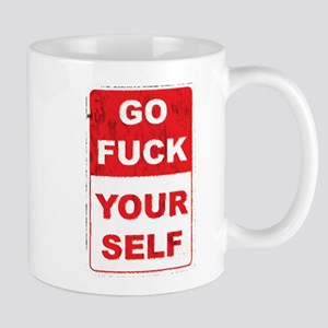fuckyourselfgrunge copy Mugs
