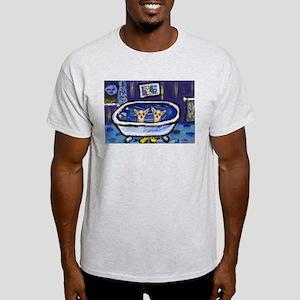 CHIHUAHUA bath Ash Grey T-Shirt