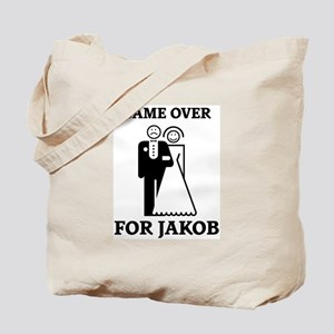 Game over for Jakob Tote Bag