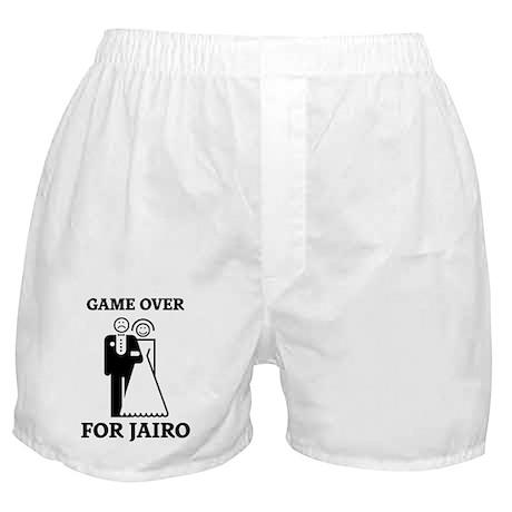 Game over for Jairo Boxer Shorts