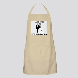 Game over for Marques BBQ Apron