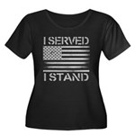I Served I Stand Plus Size T-Shirt