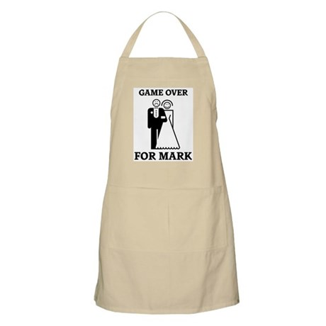 Game over for Mark BBQ Apron