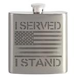 I Served I Stand Flask