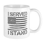 I Served I Stand Mugs