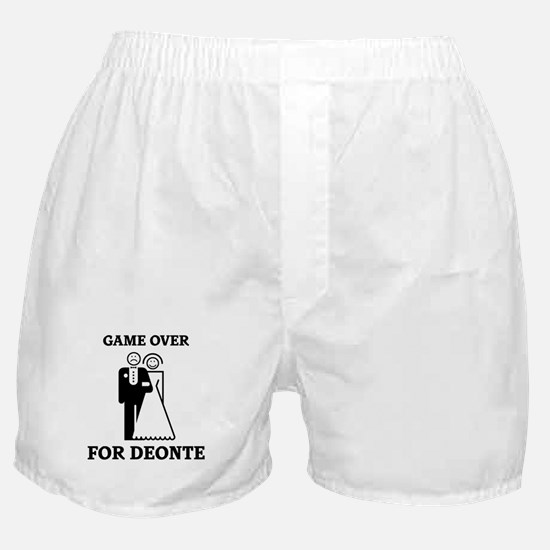 Game over for Deonte Boxer Shorts