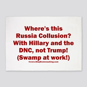 Where is the Russia Collusion? With 5'x7'Area Rug