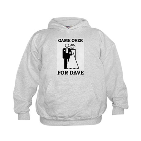 Game over for Dave Kids Hoodie