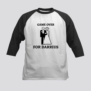 Game over for Darrius Kids Baseball Jersey