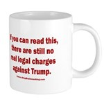 If you can read this, Trump 20 oz Ceramic Mega Mug