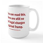 If you can read this, Tru 15 oz Ceramic Large Mug