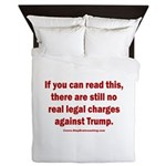 If you can read this, Trump Queen Duvet