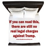 If you can read this, Trump King Duvet