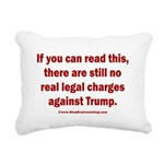 If you can read this, Tr Rectangular Canvas Pillow