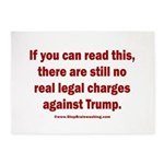 If you can read this, Trump 5'x7'Area Rug