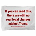 If you can read this, Trump Pillow Sham