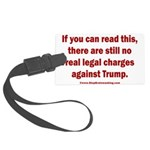 If you can read this, Trump Large Luggage Tag