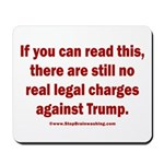 If you can read this, Trump Mousepad