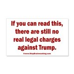 If you can read this, Trump 20x12 Wall Decal