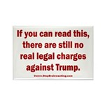 If you can read this, Trump Rectangle Magnet