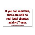 If you can read this, Trump Car Magnet 20 x 12