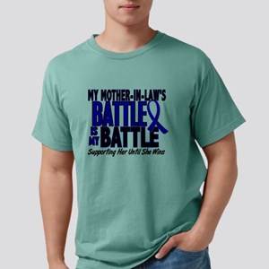 My Battle Too 1 BLUE (Mother-In-Law) T-Shirt