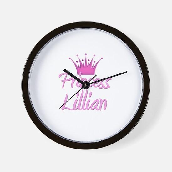 Princess Lillian Wall Clock