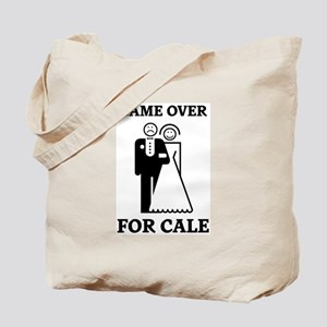 Game over for Cale Tote Bag