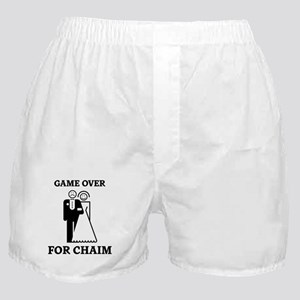 Game over for Chaim Boxer Shorts
