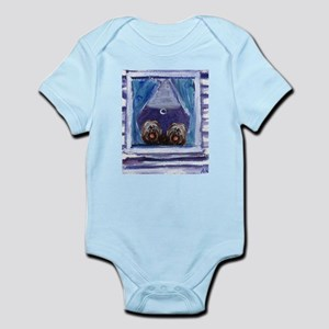 TIBETAN TERRIER window Infant Creeper