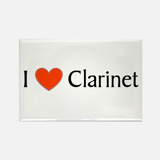 Clarinet Gift Rectangle Magnet