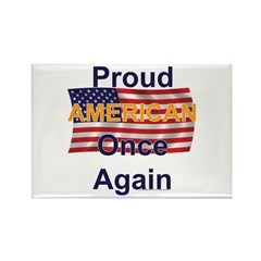 American Pride Rectangle Magnet (100 pack)