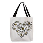 I (heart) edelweiss Polyester Tote Bag