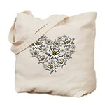 I (heart) edelweiss Tote Bag