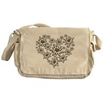 I (heart) edelweiss Messenger Bag