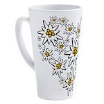I (heart) edelweiss 17 oz Latte Mug