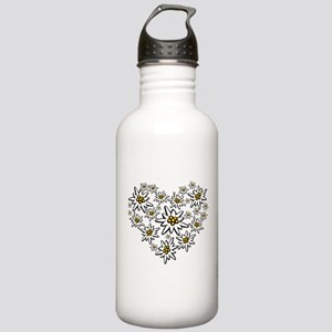I (heart) edelweiss Water Bottle