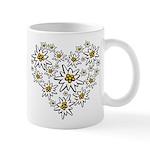 I (heart) edelweiss Mugs