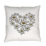 I (heart) Edelweiss Everyday Pillow