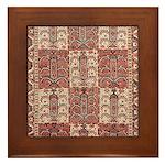 Bukhara Framed Tile