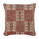 Bukhara Woven Throw Pillow