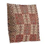 Bukhara Burlap Throw Pillow